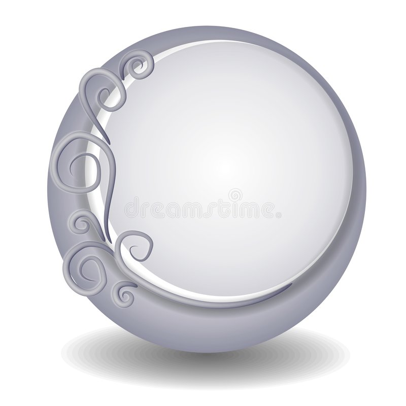 Logo décoratif de site Web illustration libre de droits