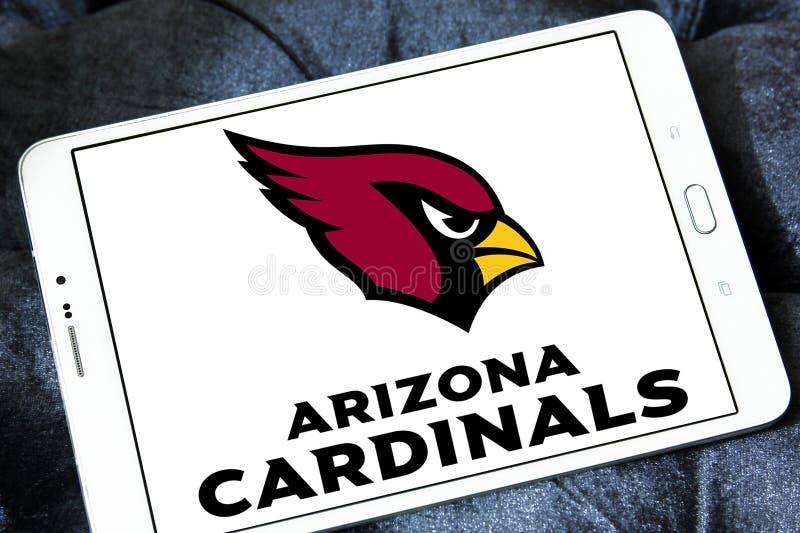 Logo d'équipe de football américain d'Arizona Cardinals image libre de droits