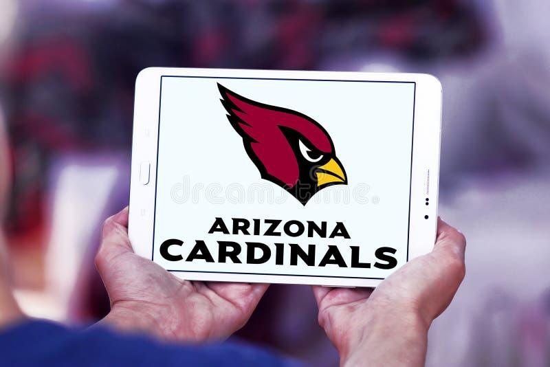 Logo d'équipe de football américain d'Arizona Cardinals images stock