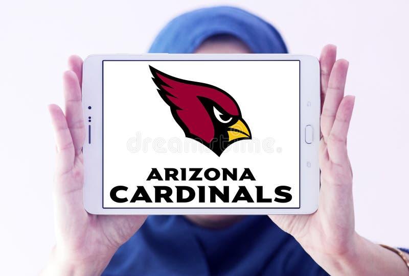 Logo d'équipe de football américain d'Arizona Cardinals photo stock