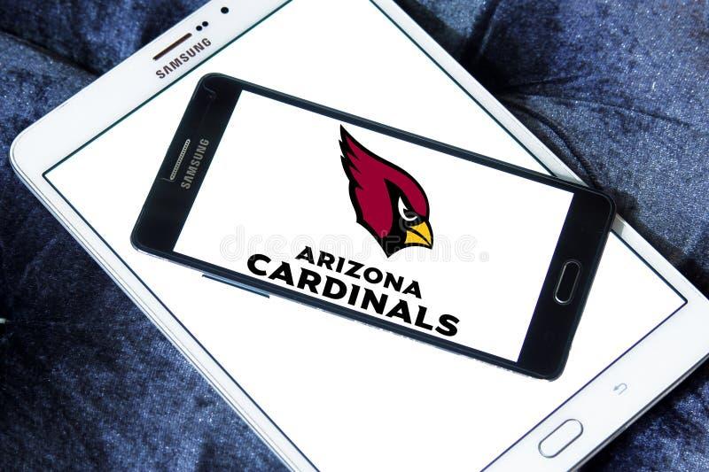 Logo d'équipe de football américain d'Arizona Cardinals photographie stock libre de droits