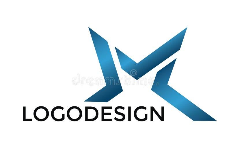 Logo d'étoile pour le nom de la société illustration libre de droits