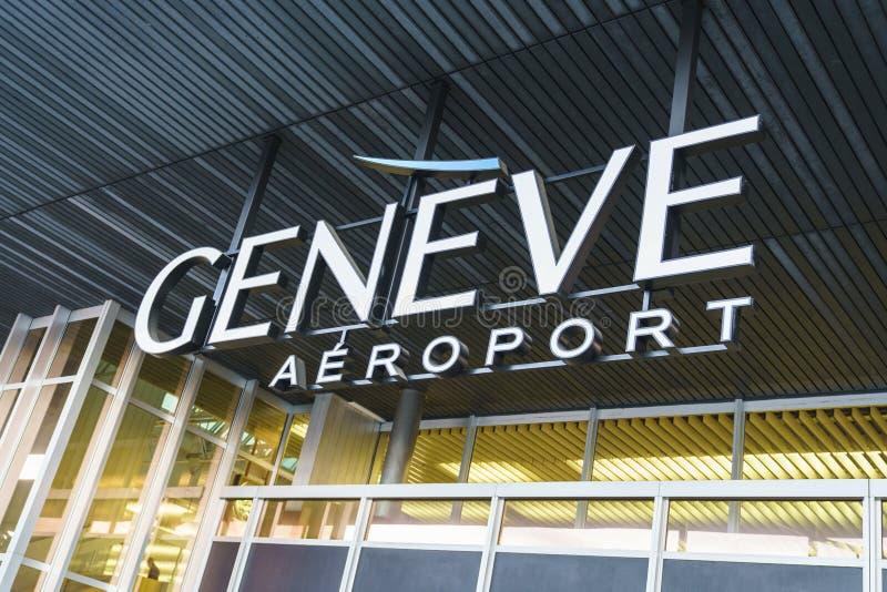 Logo d'aéroport photo stock