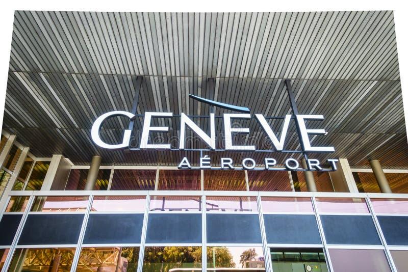 Logo d'aéroport images stock