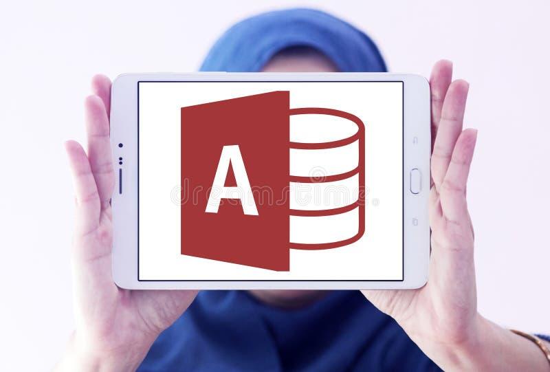 Logo d'Access de Microsoft Office photos stock