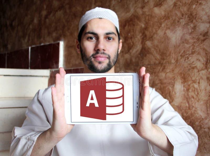 Logo d'Access de Microsoft Office photographie stock libre de droits