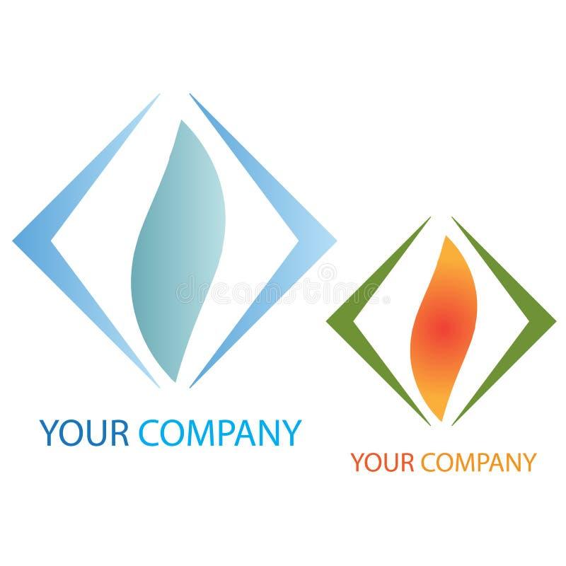 Logo d'affaires de compagnie illustration stock