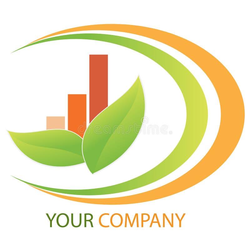 Logo d'affaires de compagnie illustration de vecteur