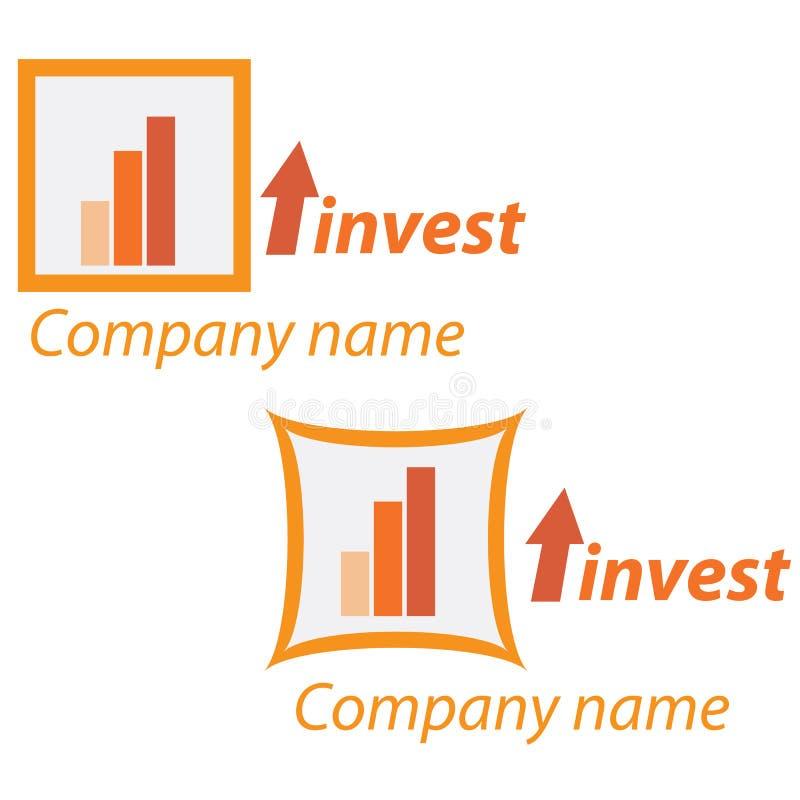 Logo d'affaires de compagnie - investissement illustration libre de droits