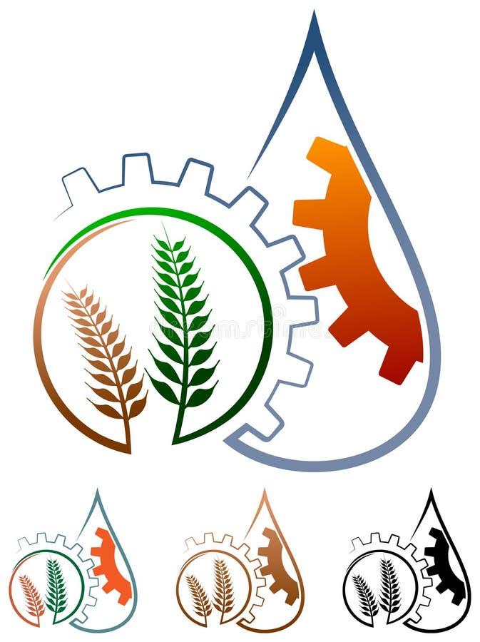 Logo d'agriculture illustration de vecteur
