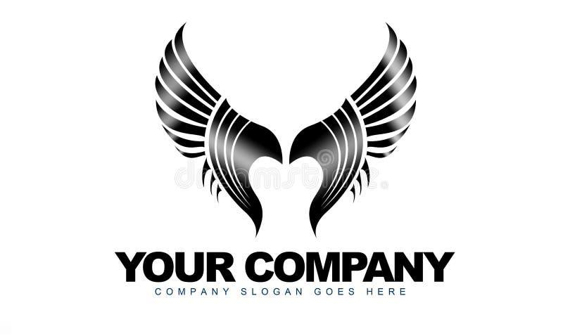 Logo d'ailes illustration libre de droits