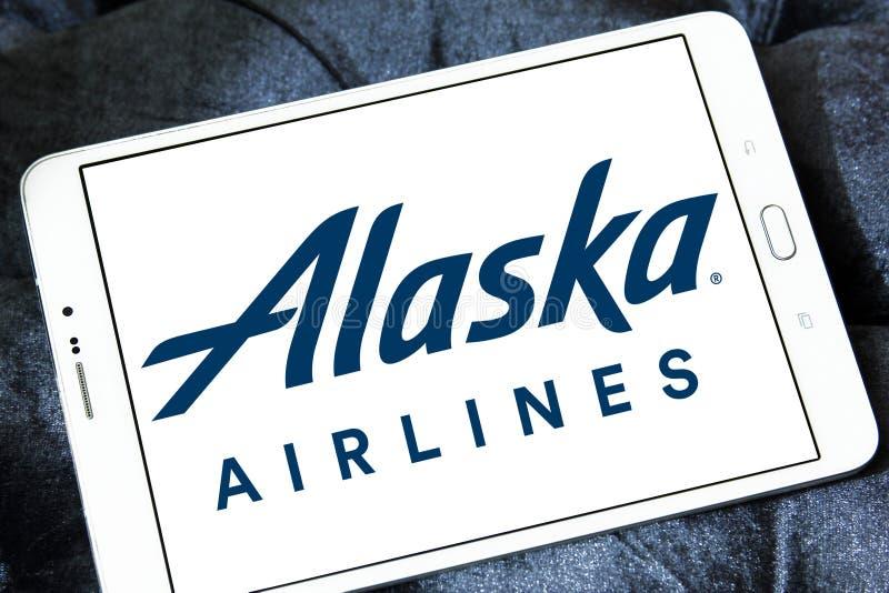Logo d'Alaska Airlines photo libre de droits