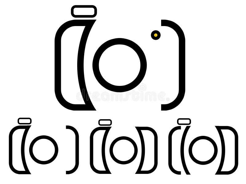 Logo d'appareil-photo illustration libre de droits