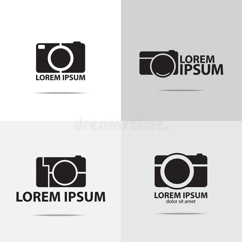 Logo d'appareil-photo compact de Digital illustration stock