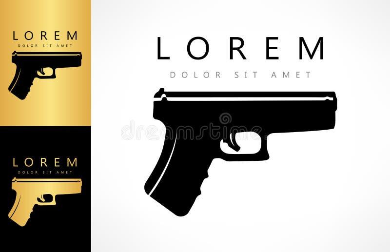 Logo d'arme à feu firearms illustration stock