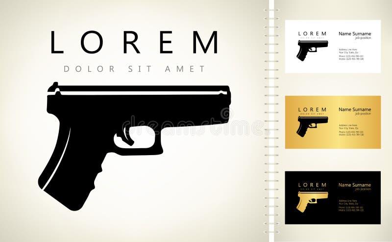 Logo d'arme à feu firearms illustration libre de droits