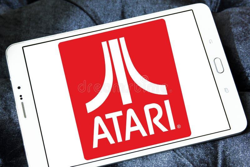 Logo d'Atari photos stock