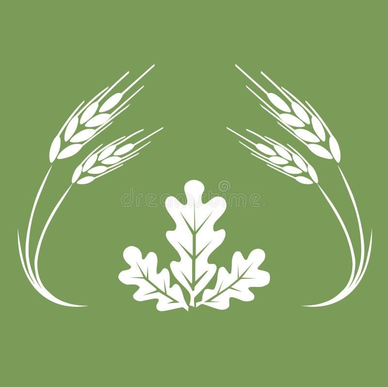 Logo d'automne. illustration de vecteur