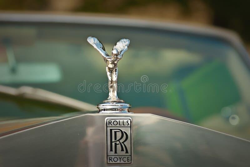 Logo d'embem de Rolls Royce photos stock
