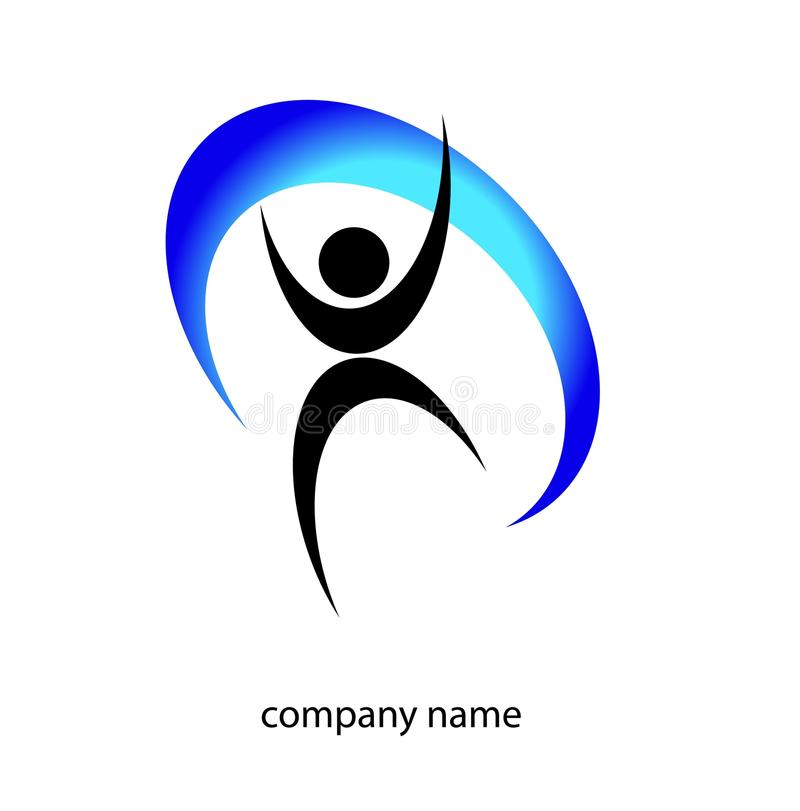 Logo d'enfance illustration libre de droits