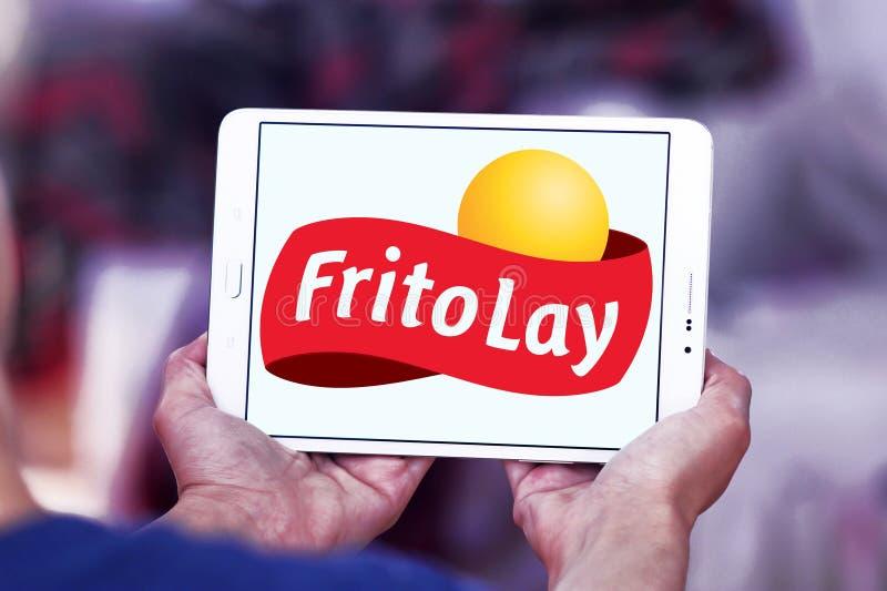 Logo d'entreprise alimentaire de Frito-configuration photographie stock libre de droits