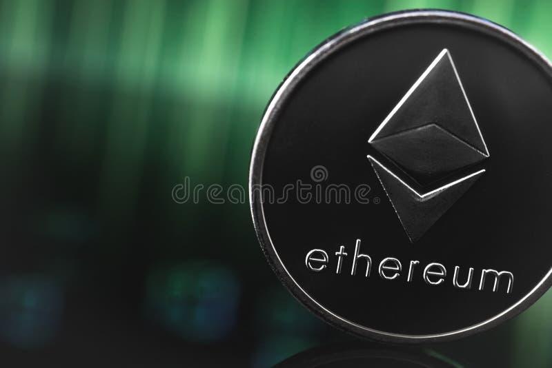 Logo d'Ethereum photo libre de droits