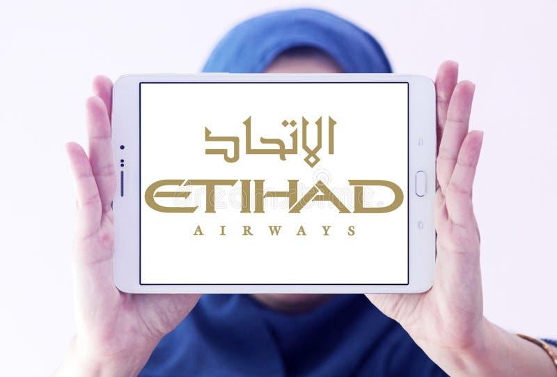 Logo d'Etihad Airways images libres de droits