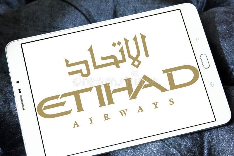 Logo d'Etihad Airways images stock