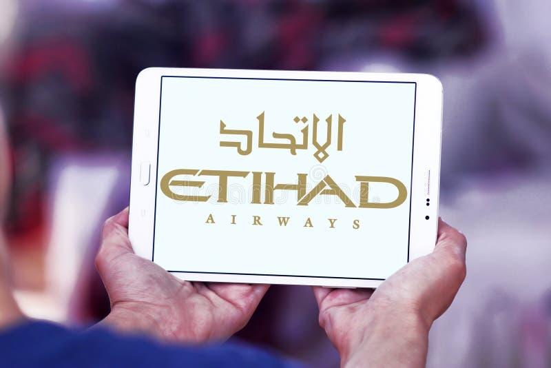 Logo d'Etihad Airways photo stock