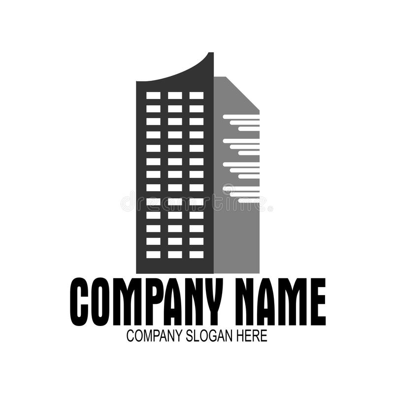 Logo d'immeubles images libres de droits