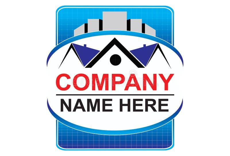 Logo d'immobiliers illustration libre de droits