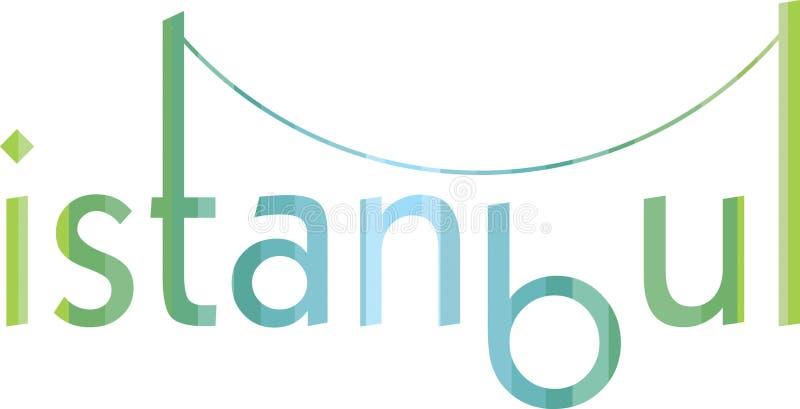 Logo d'Istanbul illustration de vecteur