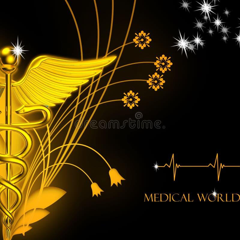 logo 3d médical illustration libre de droits