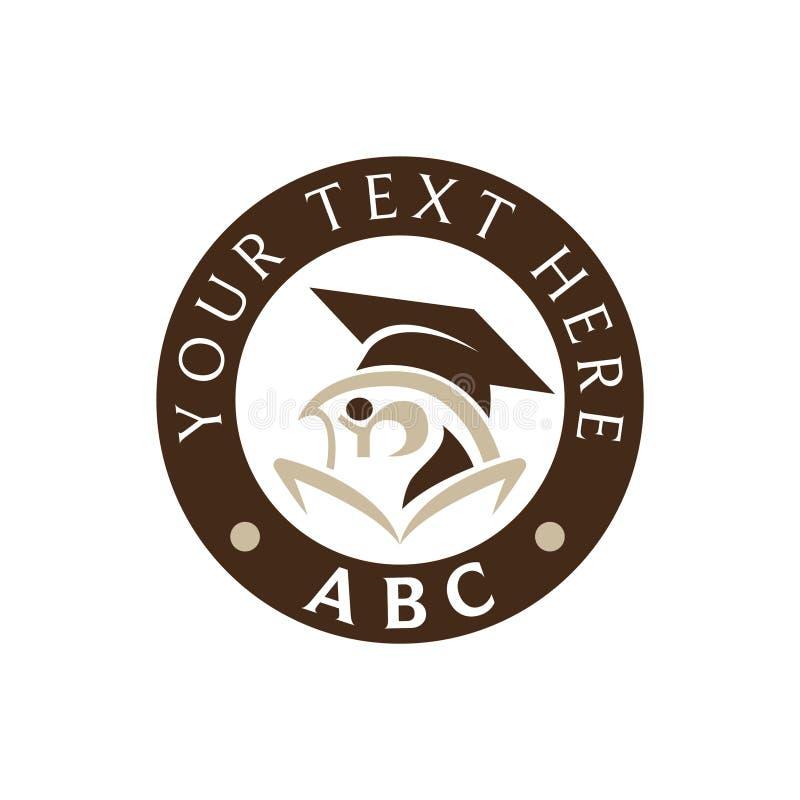 Logo d'obtention du diplôme image libre de droits