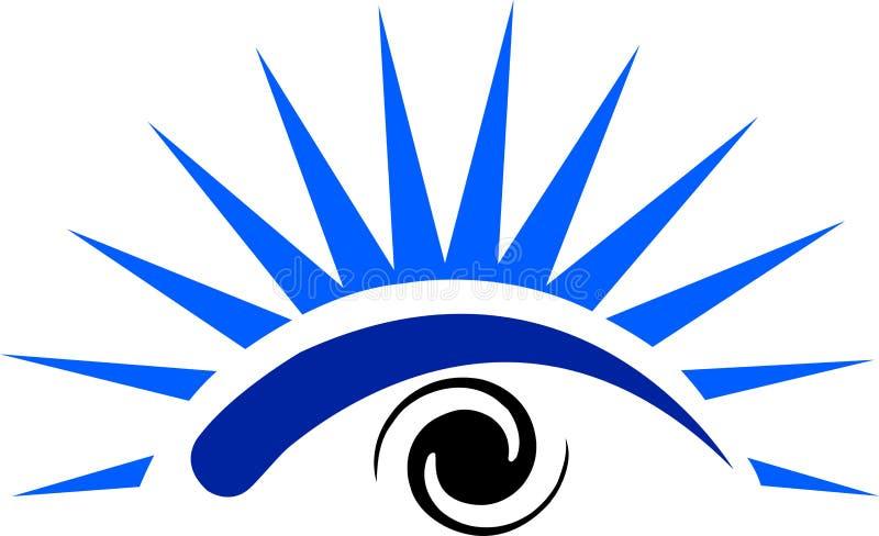 Logo d'oeil illustration stock