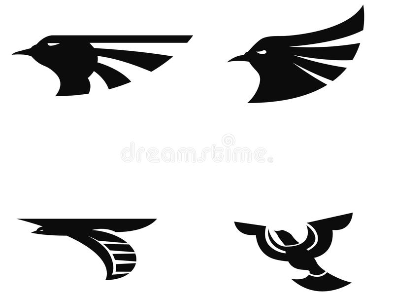 Logo d'oiseau illustration libre de droits