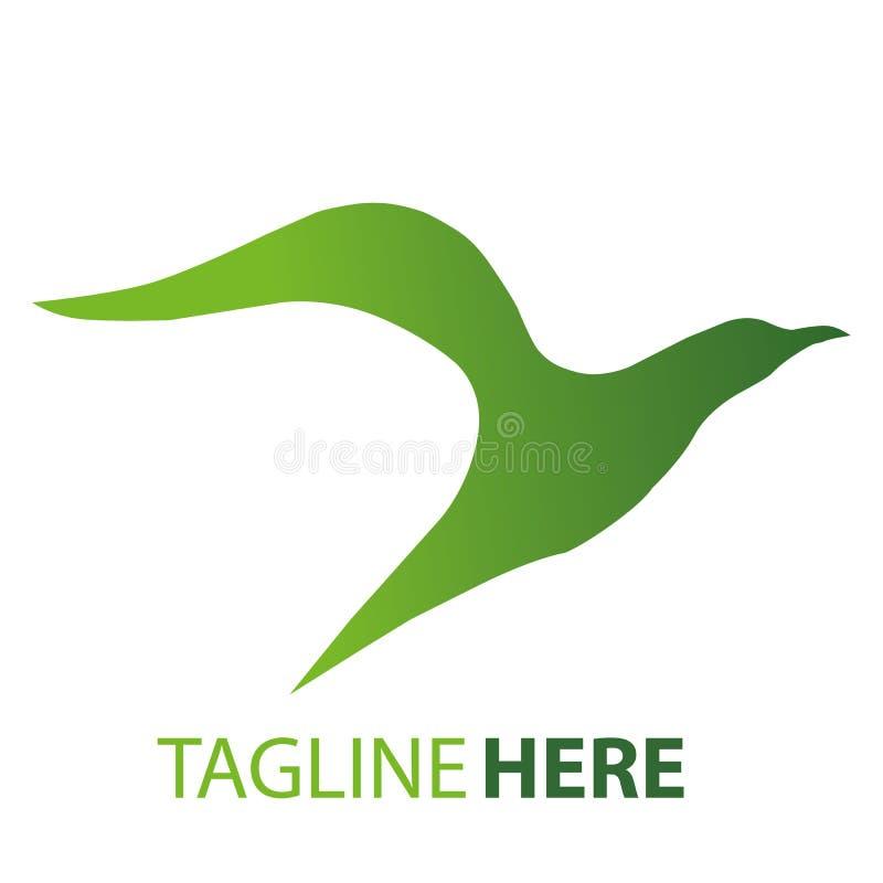Logo d'oiseau illustration de vecteur