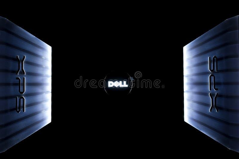 Logo d'ordinateur portatif de Dell XPS image stock