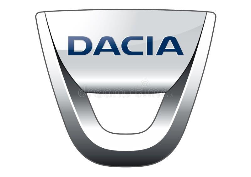 Logo Dacia royalty ilustracja