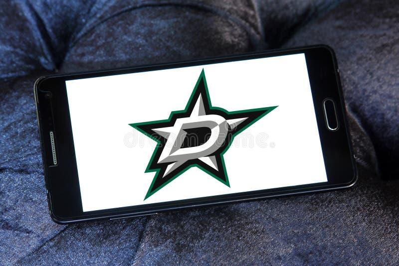 Dallas Stars ice hockey team logo stock images