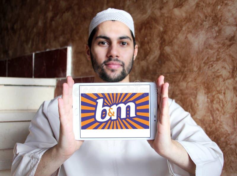 Logo de B&M European Retail Value images libres de droits