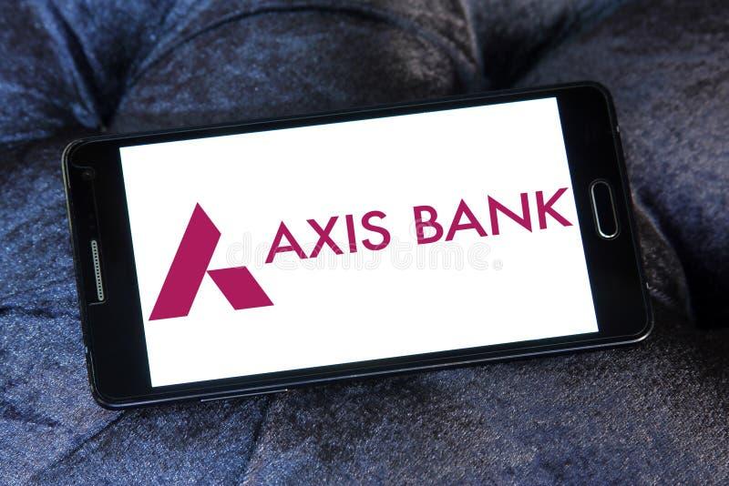 Logo de banque d'axe photos stock