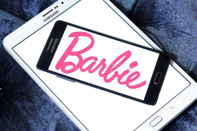 Logo de Barbie images stock