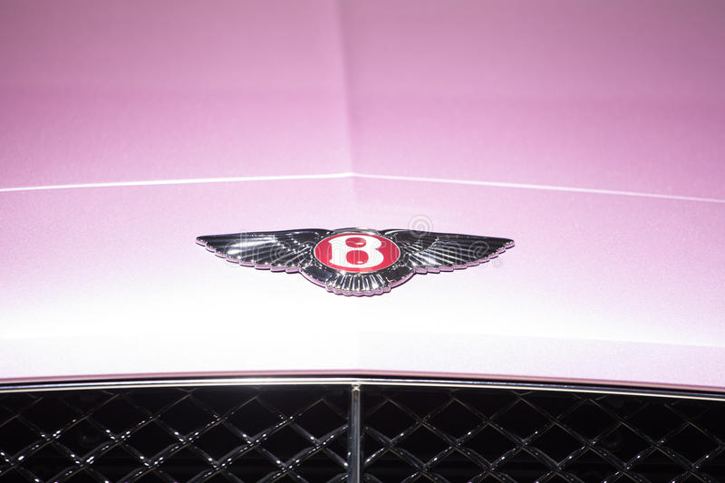 Logo de Bentley Motors photographie stock libre de droits