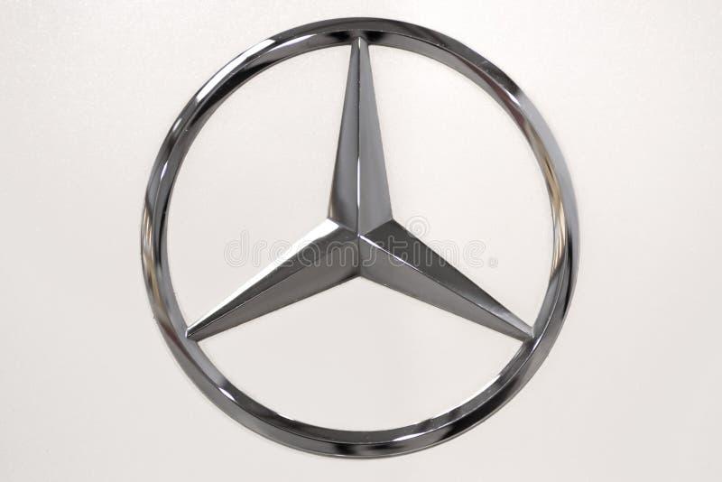 Logo de benz de Mercedes photo libre de droits