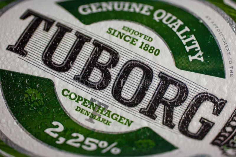 Logo de bière de Tuborg photos libres de droits