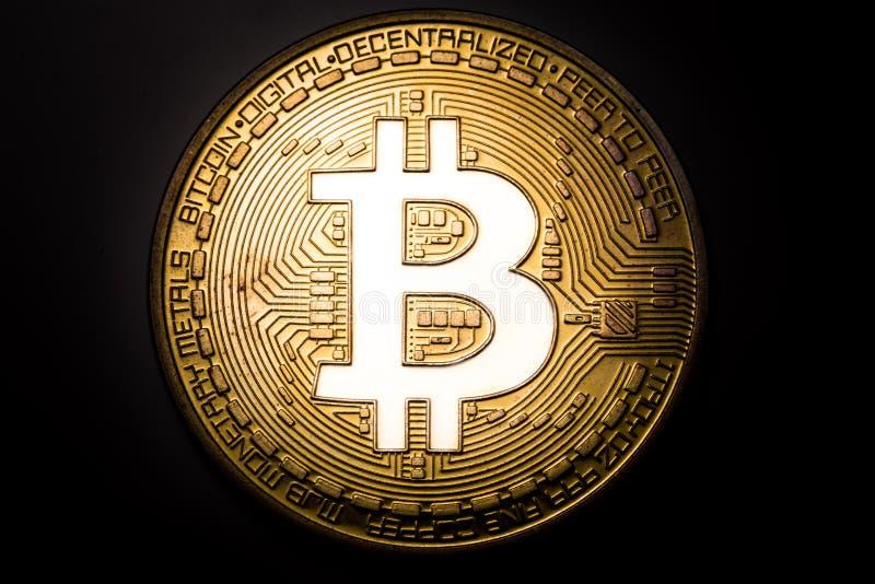 Logo de Bitcoin photographie stock