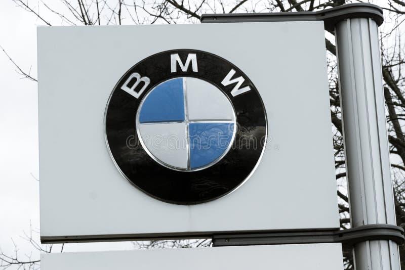 Logo de BMW photos stock