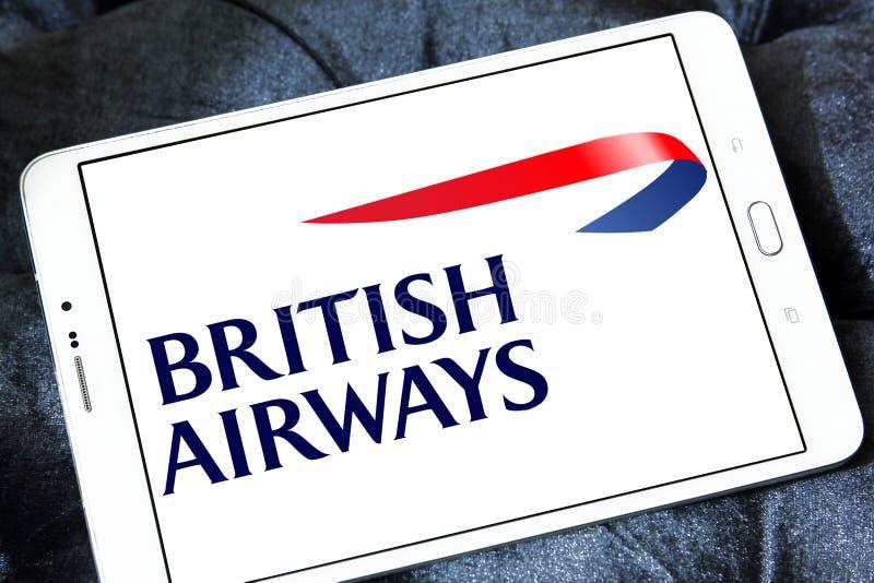 Logo de British airways photo stock
