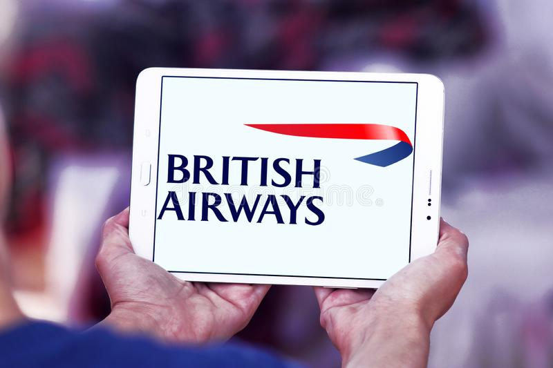 Logo de British airways photo stock